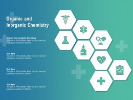 Organic And Inorganic Chemistry Ppt Powerpoint Presentation Infographics Clipart