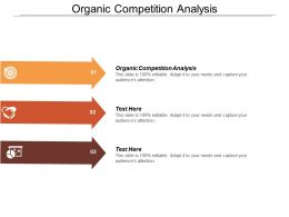 Organic Competition Analysis Ppt Powerpoint Presentation Layouts Outfit Cpb