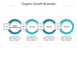 Organic Growth Business Ppt Powerpoint Presentation Styles Visual Aids Cpb