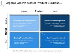 Organic Growth Market Product Business Maximizing Earnings Capturing Share