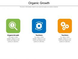 Organic Growth Ppt Powerpoint Presentation Gallery File Formats Cpb