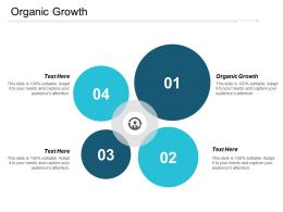 Organic Growth Ppt Powerpoint Presentation Infographics Layouts Cpb