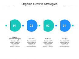 Organic Growth Strategies Ppt Powerpoint Presentation Model Graphics Cpb