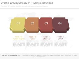 Organic Growth Strategy Ppt Sample Download