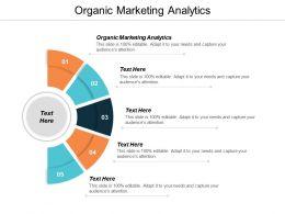 Organic Marketing Analytics Ppt Powerpoint Presentation Slides Template Cpb