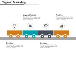 Organic Marketing Ppt Powerpoint Presentation Infographics Model Cpb