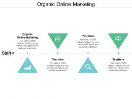 Organic Online Marketing Ppt Powerpoint Presentation Ideas Show Cpb