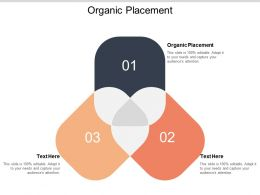 Organic Placement Ppt Powerpoint Presentation Layouts Example Introduction Cpb