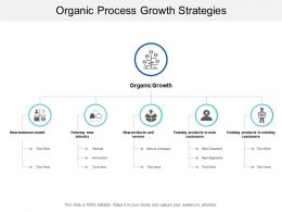 Organic Process Growth Strategies