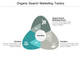 Organic Search Marketing Tactics Ppt Powerpoint Presentation Infographic Template Inspiration Cpb