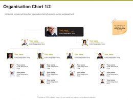 Organisation Chart Department Ppt Powerpoint Presentation Infographic