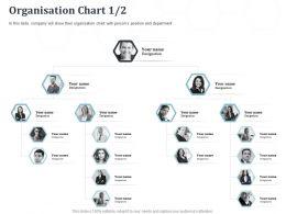Organisation Chart N320 Powerpoint Presentation Gridlines