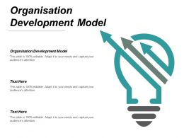 Organisation Development Model Ppt Powerpoint Presentation Styles Graphics Template Cpb