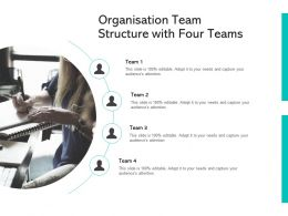 Organisation Team Structure With Four Teams