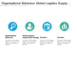 Organisational Behaviour Global Logistics Supply Chain Strategies Personal Development Cpb