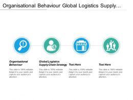 Organisational Behaviour Global Logistics Supply Chain Strategies Personal Development Cpb