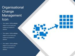 Organisational Change Management Icon
