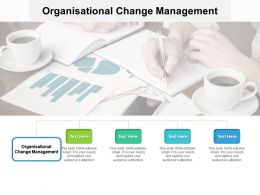 Organisational Change Management Ppt Powerpoint Presentation Summary Skills Cpb
