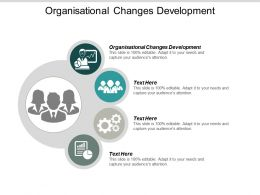Organisational Changes Development Ppt Powerpoint Presentation Styles File Formats Cpb