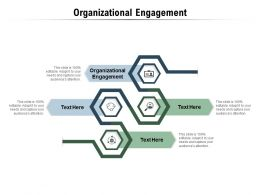 Organisational Engagement Ppt Powerpoint Presentation Outline Brochure Cpb