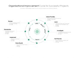 Organisational Improvement Cycle For Successful Projects