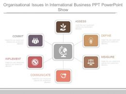 Organisational Issues In International Business Ppt Powerpoint Show