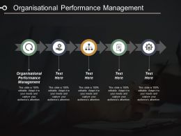 Organisational Performance Management Ppt Powerpoint Presentation Portfolio Background Image Cpb