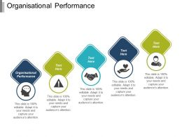 Organisational Performance Ppt Powerpoint Presentation Infographic Template Deck Cpb