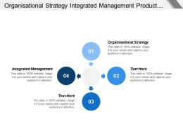 Organisational Strategy Integrated Management Product Type Operational Support Model