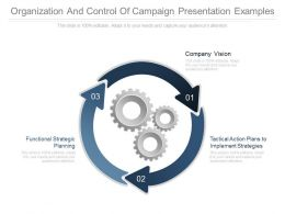 Organization And Control Of Campaign Presentation Examples