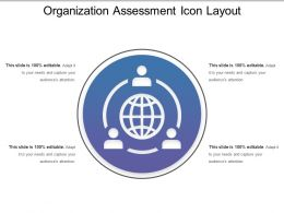 Organization Assessment Icon Layout