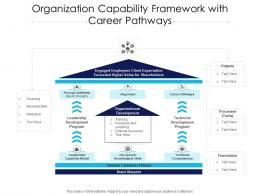 Organization Capability Framework With Career Pathways