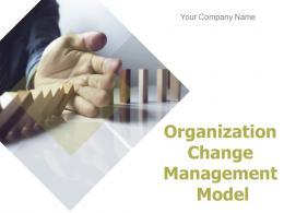 Organization Change Management Model Powerpoint Presentation Slides