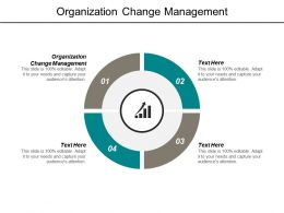 Organization Change Management Ppt Powerpoint Presentation Outline Slide Download Cpb