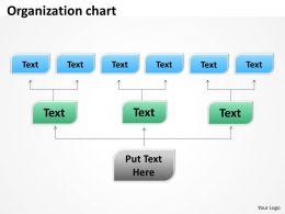 Organization chart boxes 5 3