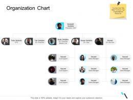 Organization Chart Business Operations Management Ppt Formats