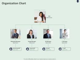 Organization Chart C1485 Ppt Powerpoint Presentation Infographics Slides