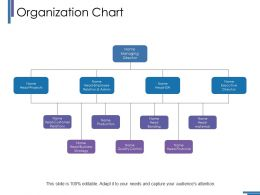 Organization Chart Ppt Outline Guide