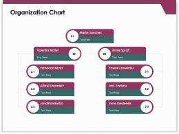 Organization Chart Valentin Wallet Ppt Powerpoint Presentation Samples