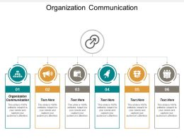 Organization Communication Ppt Powerpoint Presentation Outline Vector Cpb