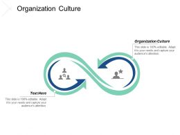 Organization Culture Ppt Powerpoint Presentation Ideas Slides Cpb