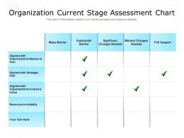 Organization Current Stage Assessment Chart