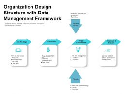 Organization Design Structure With Data Management Framework