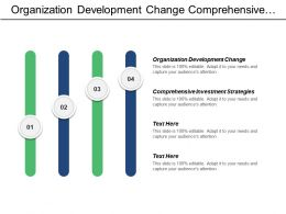 Organization Development Change Comprehensive Investment Strategies Cpb