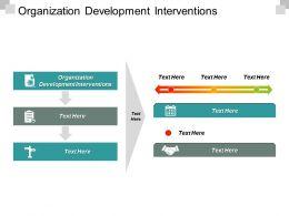 Organization Development Interventions Ppt Powerpoint Presentation Styles Graphics Tutorials Cpb