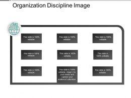 Organization Discipline Image Powerpoint Show