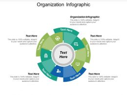 Organization Infographic Ppt Powerpoint Presentation Icon Layout Cpb