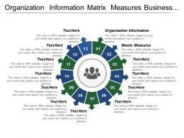 Organization Information Matrix Measures Business Process Change Roadmap