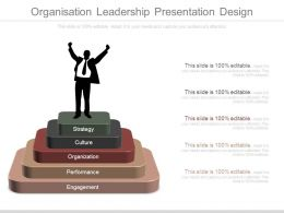 Organization Leadership Presentation Design