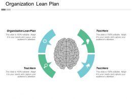 Organization Lean Plan Ppt Powerpoint Presentation Gallery Layouts Cpb
